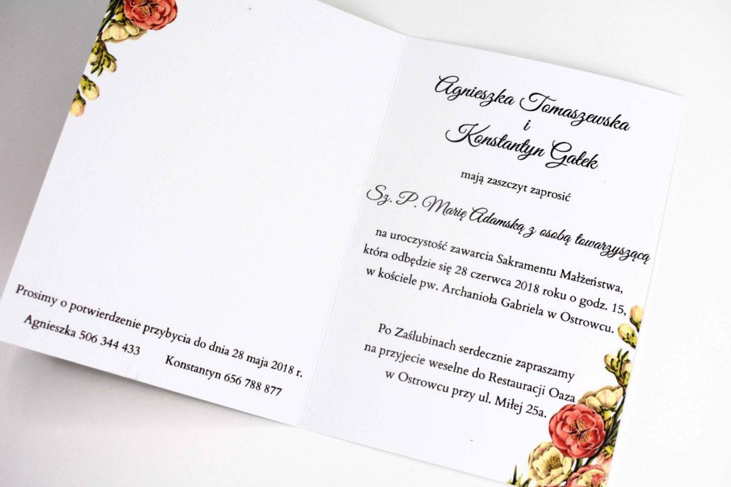 tekst zaproszenia na ślub