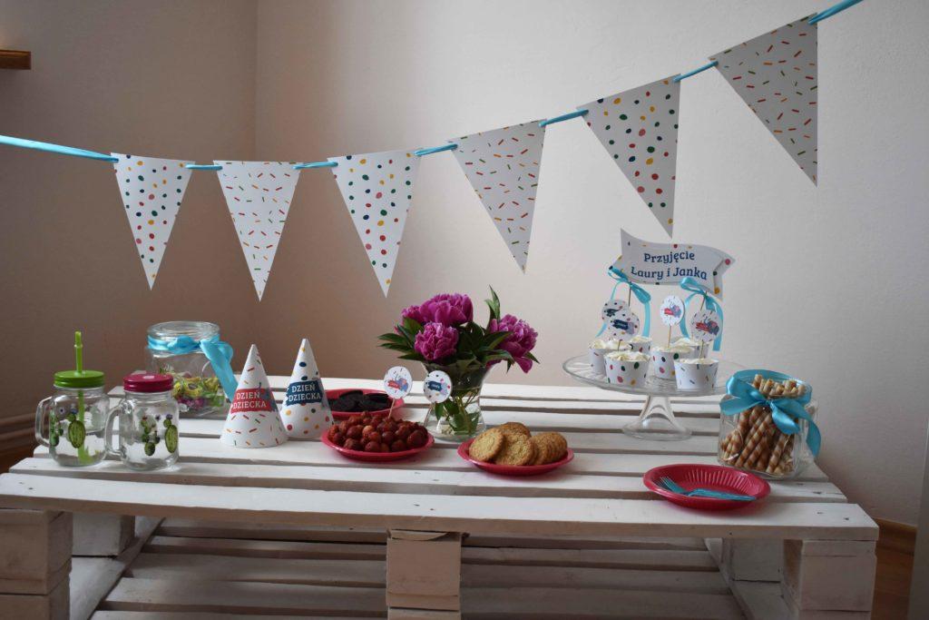słodki bufet przyjęcie dzień dziecka