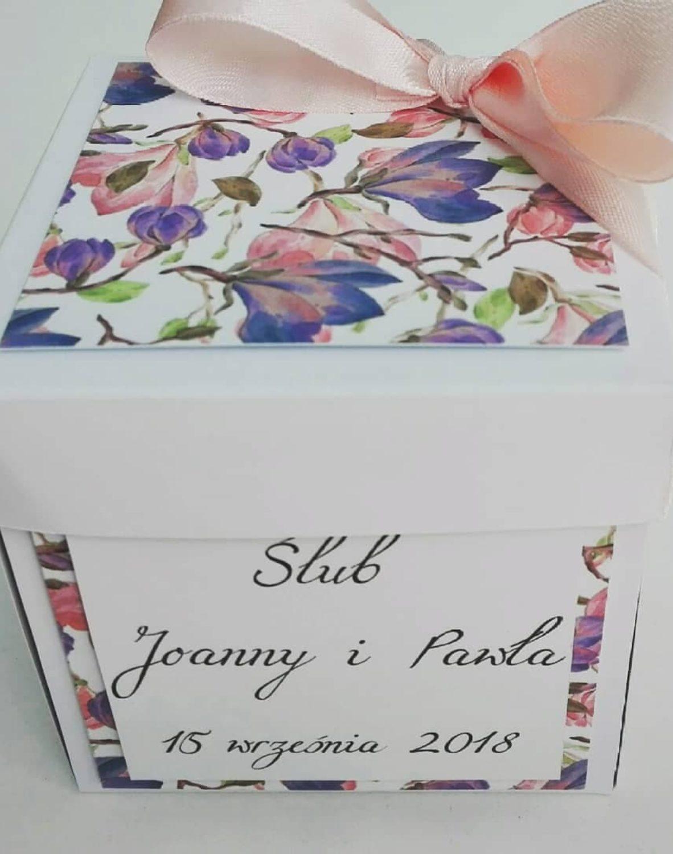 pudełeczko z życzeniami