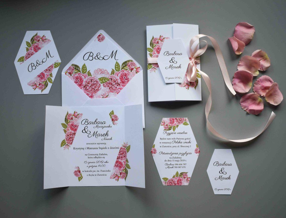 Kolekcja Ślubne róże