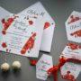 Zaproszenie ślubne maki