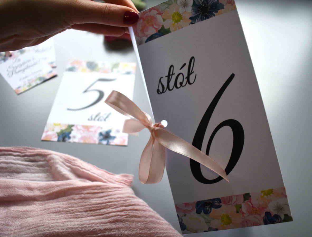 Numer stołu weselnego