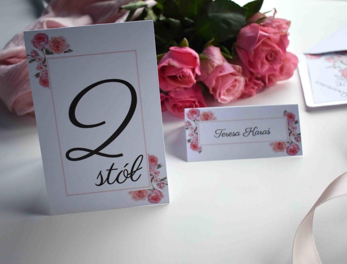 Kolekcja ślubna W różanym duecie