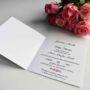 Zaproszenie otwierane W różąnym duecie