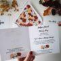 Zaproszenie na ślub Różane