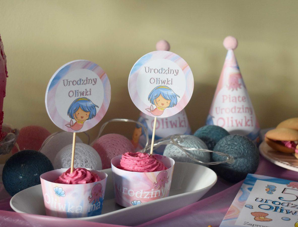 Przyjęcie urodzinowe dla dziewczynki Syrenki