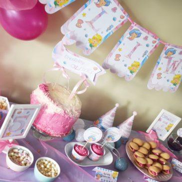 Przyjęcie urodzinowe z motywem syrenki