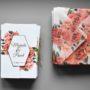 Zaproszenie ślubne Czerwień róż