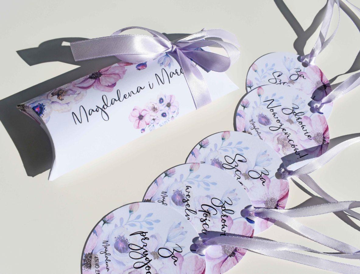 Dekoracje weselne z anemonami