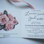 Zaproszenie na ślub środek