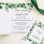 Zaproszenia ślubne kolekcja Eukaliptus