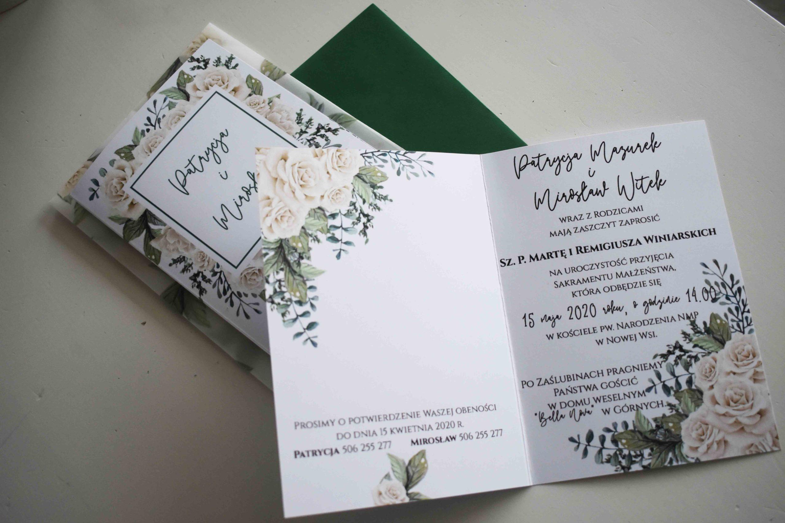 Bukiet białych róż 5