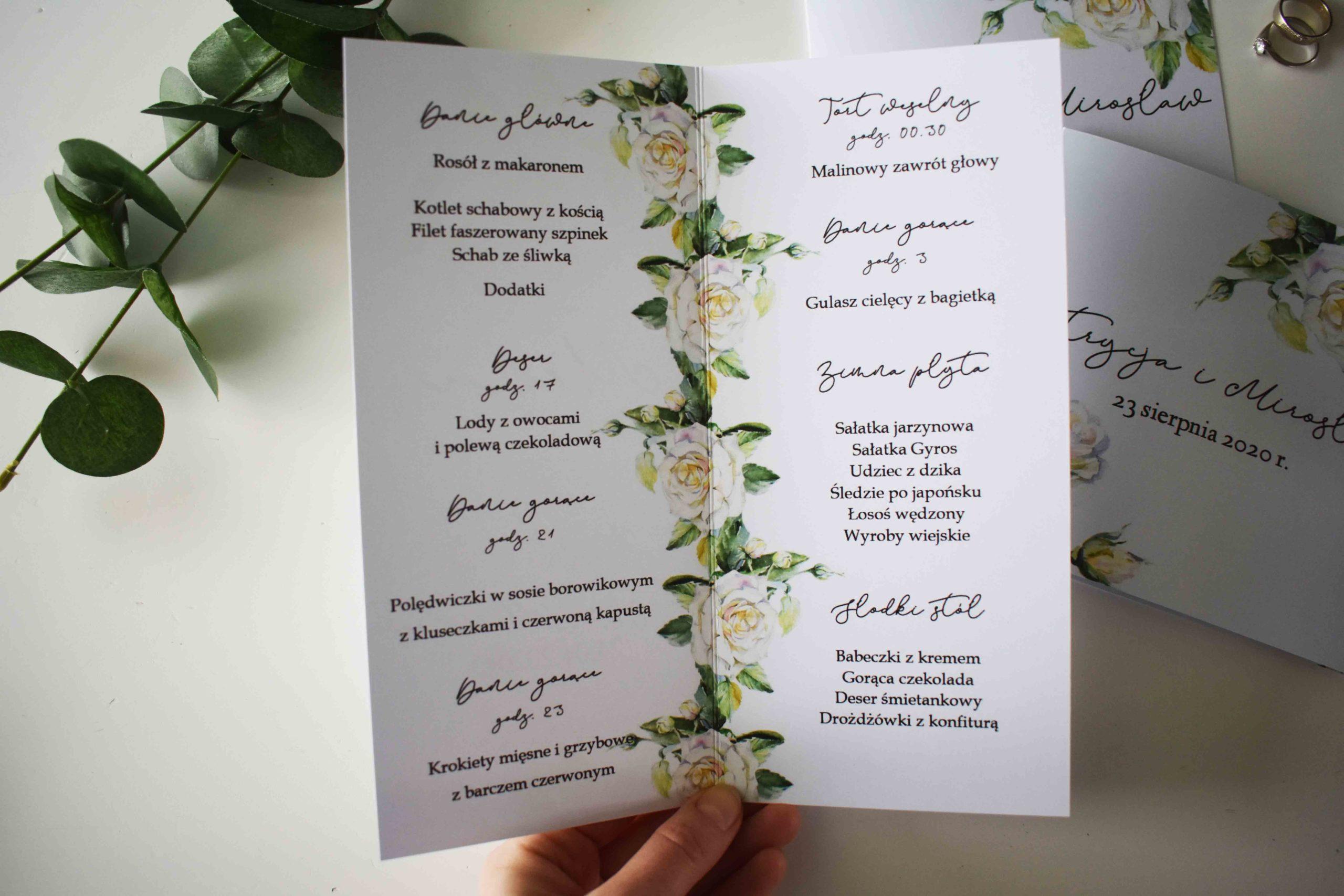 Delikatne białe róże 14