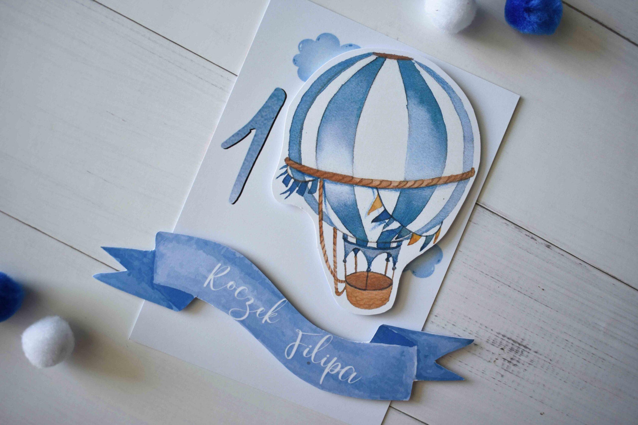 zaproszenie balonik 7